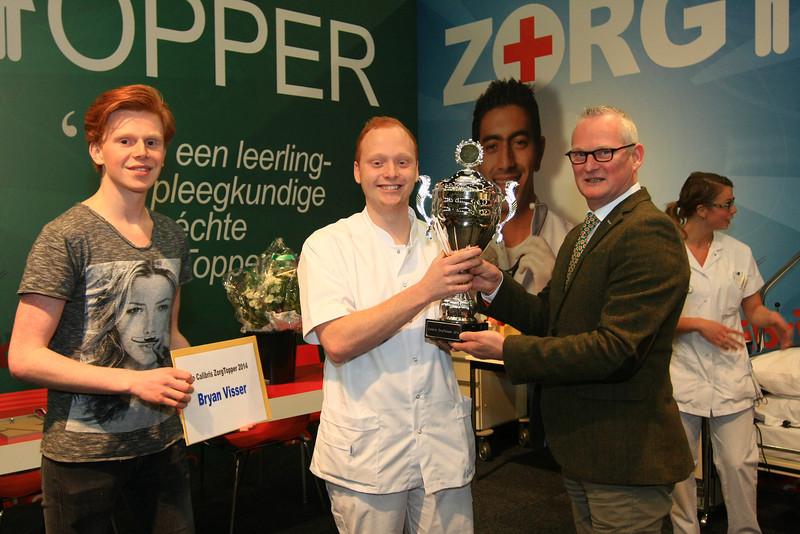 Winnaar Calibris Zorgtopper - Verpleegkunde: Bryan Visser