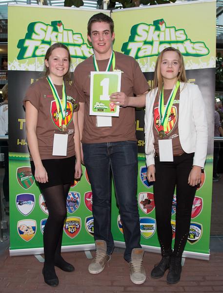 Skills Talents 2015 Prijsuitreiking