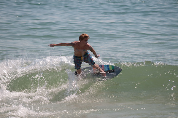 2015 Florida Pro/Am Skimboard Practicing Session #1 at Vilano Beach, FL on Sat - 08/22/2015  from 11:38-12:37pm