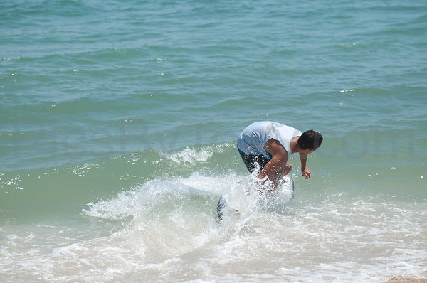 2015 Florida Pro/Am Skimboard competitions for Pro Men at Vilano Beach, FL on Sat - 08/22/2015
