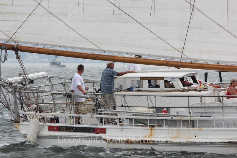 The skipjack Rebecca T. Ruark in the 2012 race.