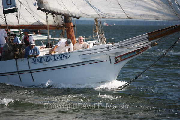 The Martha Lewis overtakes the Somerset. (2010)