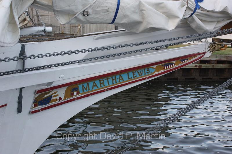 Bowsprit of the Martha Lewis. (2009)