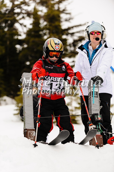 Mt Hood Mitey Mite Racers compete in the 2013 Meadows Challenge at Mt Hood Meadows.