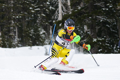 Northwest PNSA racers compete at the 2011 J3 JO Qualifier SL race held at Mt Hood Meadows, OR.