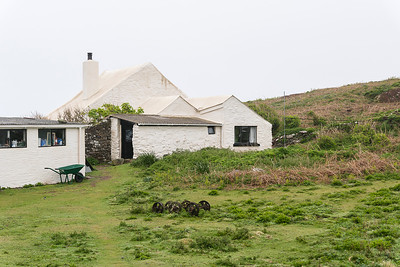 The Skokholm farmhouse