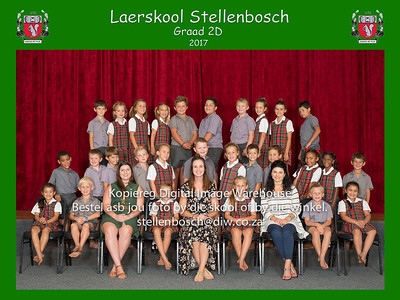 Laerskool Stellenbosch Klasfotos 2017