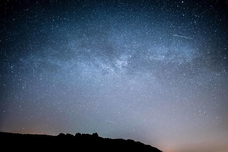 Milky Way Skomer