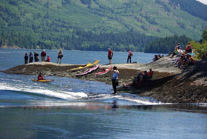 Long boat paddlers can enjoy the adventure too!