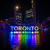 The Toronto Sign During the Pan Am/Parapan Am Games