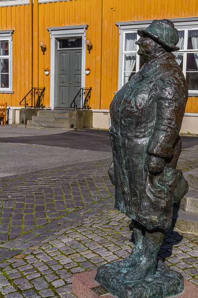 Denne er plassert i Trondheim