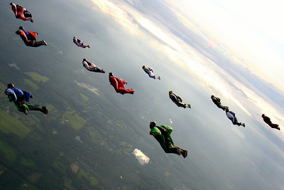 And this is just a casual Thursday jump.