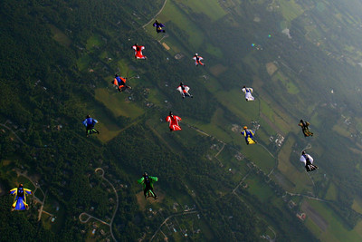 Another view of a practice formation.