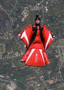 Justin Shorb backflying.