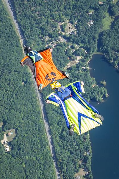 Wingsuiting - August 2016