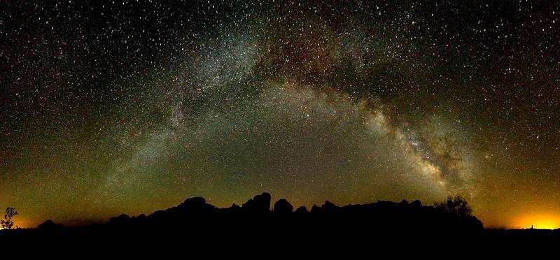 Milky Way over Kofa