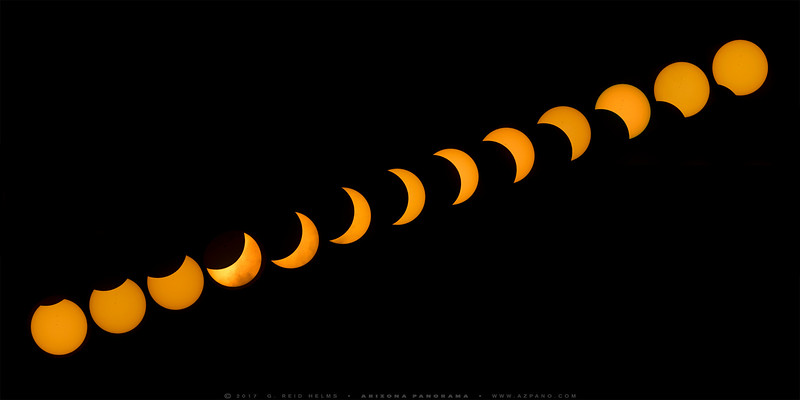 2017 Solar Eclipse Sequence