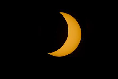 Solar Eclipse, Phoenix Arizona. August 21, 2017.