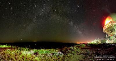Humbolt Mountain Milky Way Pan