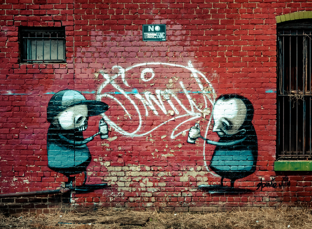 Public art by Stormie Mills