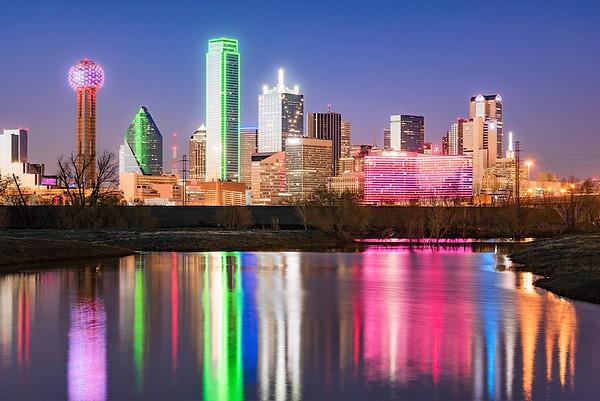 Dallas - Colorful Big-D