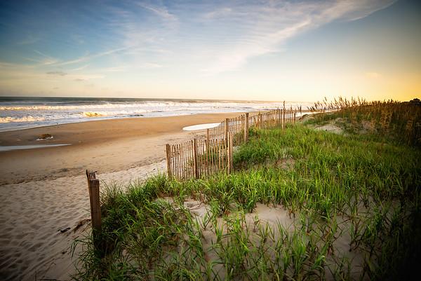 Shoreline of the Atlantic