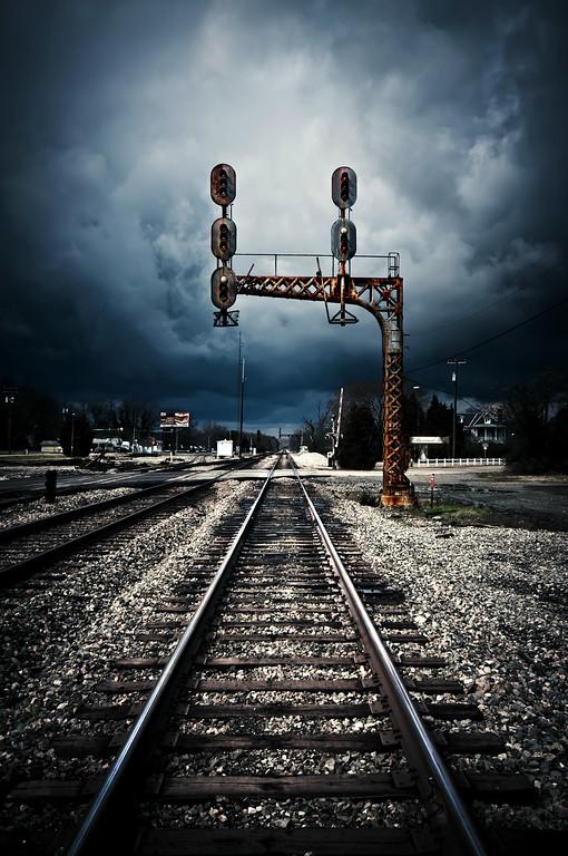 Stormy Rail