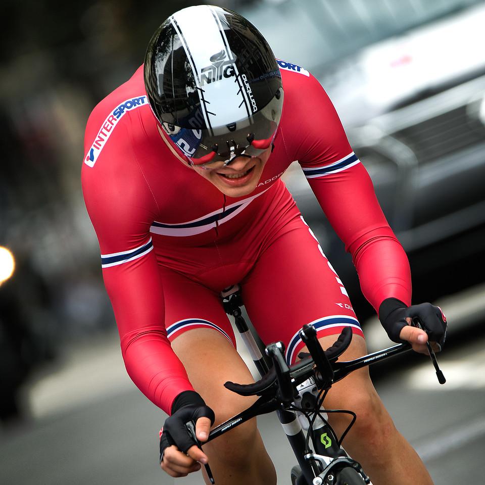 Norway's Tobias Foss  -  UCI World Road Championships
