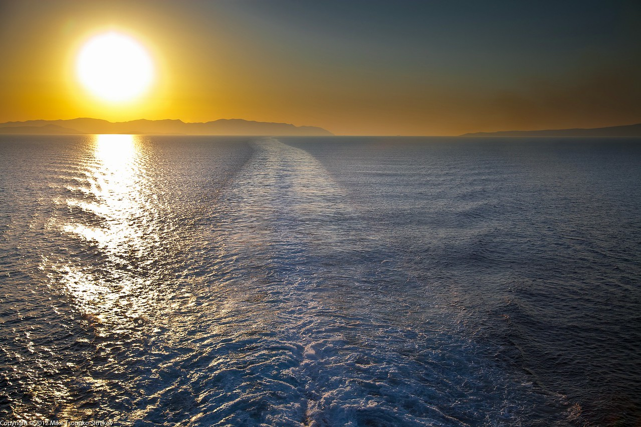 Sunrise on the Mediterranean