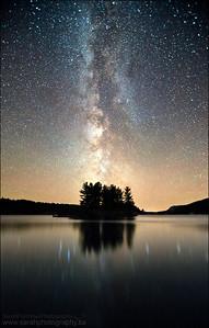 George Lake. Killarney Provincial Park, Ontario.