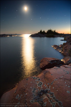 Georgian Bay, Lake Huron.  Philip Edward Island, ON.