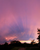 Untouched photo of sunset.