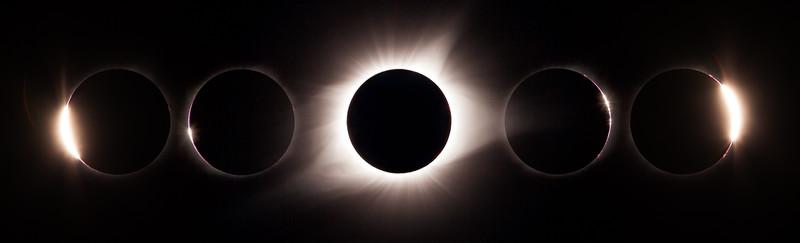 Eclipse Sequence - Diamonds, Beads and Corona