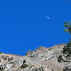 June 26, 2012 - Moon over Chaos Crags, Lassen Volcanic National Park, California