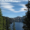 September 12, 2010 - Clouds and sky above Crater Lake NP, Oregon