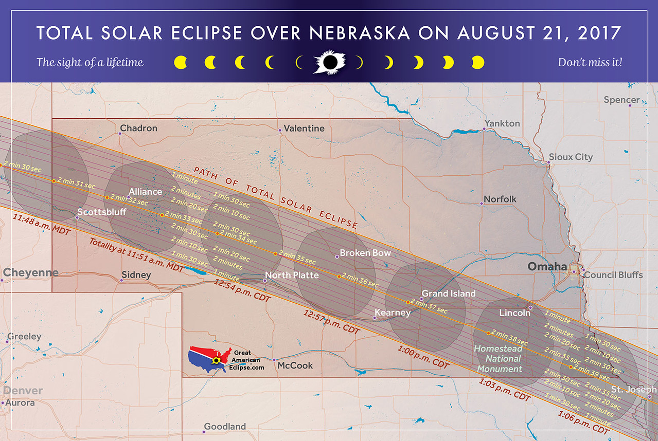 Totality Path