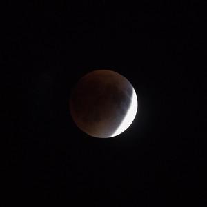 Super Moon Eclipse, Charlottestown, PEI