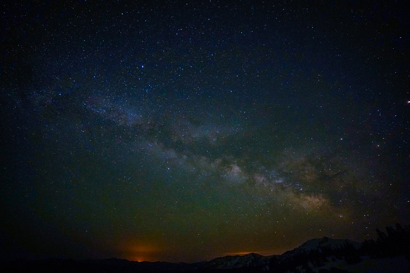 Milky Way from Mt Lassen