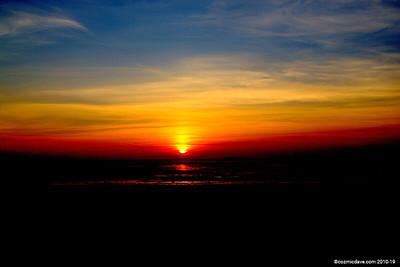 Sunset at Sand Bay, Somerset
