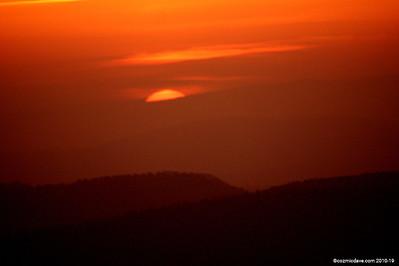 Sunset taken at May Hill