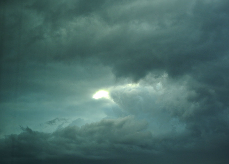 Ominous Sky Over Boston