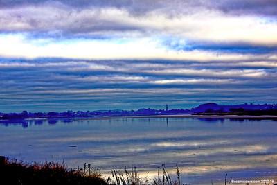 Dusk Sky over The River Severn, Newnham