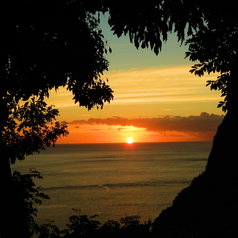 Saint Lucia Sunset