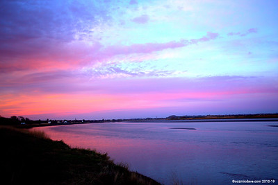 Sunset at Newnham