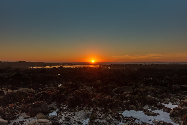 Sunset at Pacific Grove