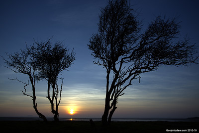 Sunset at Sand Bay, Somerset