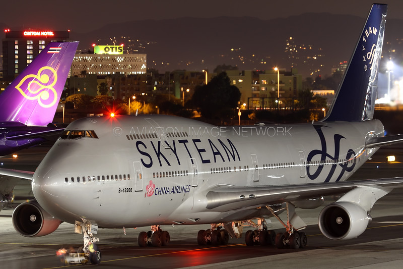 B-18206 | Boeing 747-409 | China Airlines