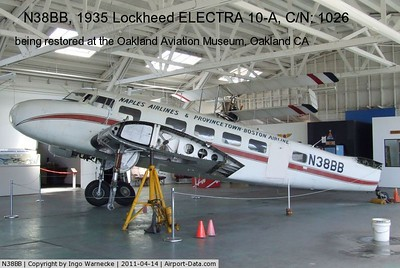ELECTRA 10A today - serial # 1026