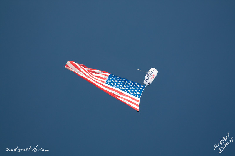 Travis Donley and the 7800 sq ft American Flag