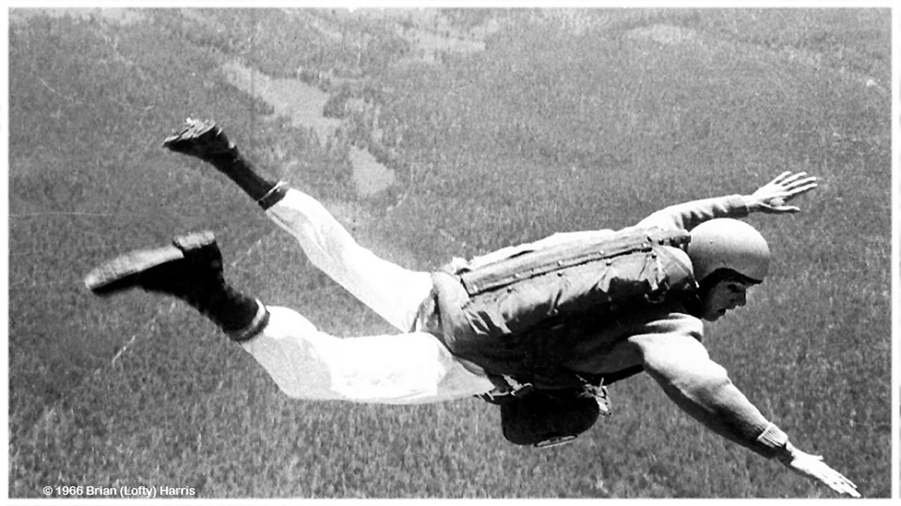 Glen Ramsey flies over Redbank Plains near Ipswich city.